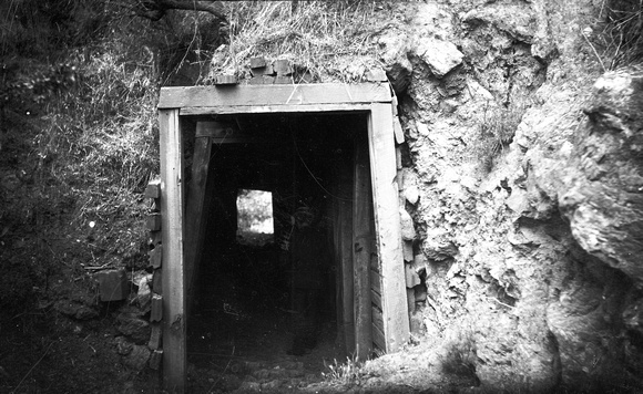 New Almaden Mine Tunnel, c. 1885 (1979-251-158)