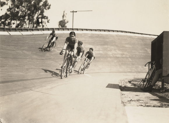 Racing at the velodrome, c. 1930 (1997-224-464)